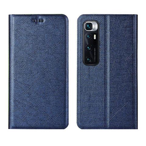 Handytasche Stand Schutzhülle Flip Leder Hülle L03 für Xiaomi Mi 10 Ultra Blau