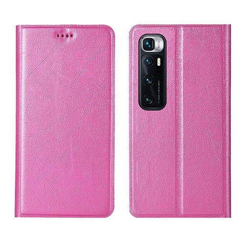 Handytasche Stand Schutzhülle Flip Leder Hülle L03 für Xiaomi Mi 10 Ultra Rosa