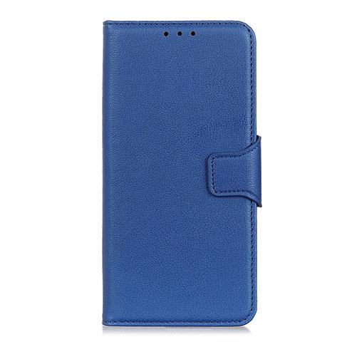 Handytasche Stand Schutzhülle Flip Leder Hülle L05 für Oppo Reno3 A Blau