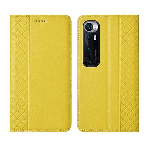 Handytasche Stand Schutzhülle Flip Leder Hülle L05 für Xiaomi Mi 10 Ultra Gelb