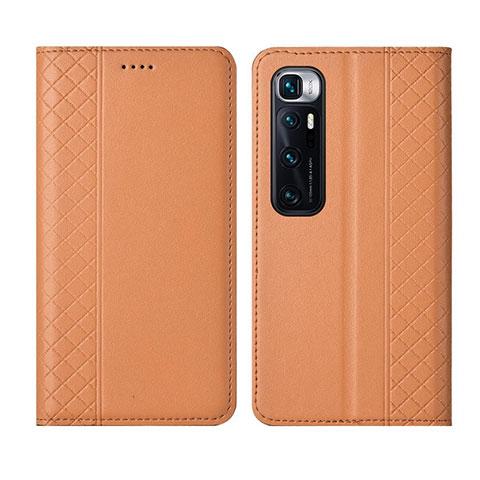 Handytasche Stand Schutzhülle Flip Leder Hülle L05 für Xiaomi Mi 10 Ultra Orange