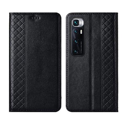 Handytasche Stand Schutzhülle Flip Leder Hülle L05 für Xiaomi Mi 10 Ultra Schwarz