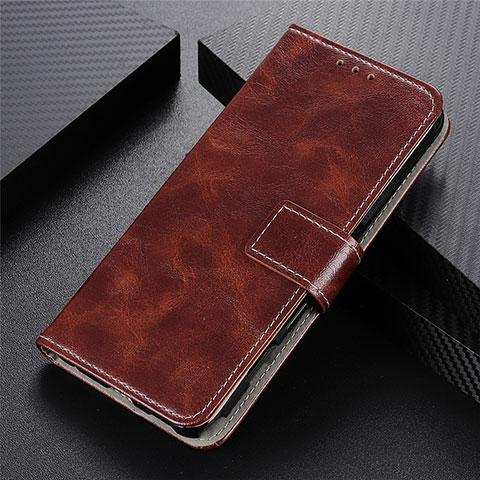 Handytasche Stand Schutzhülle Flip Leder Hülle L07 für Motorola Moto G9 Plus Braun