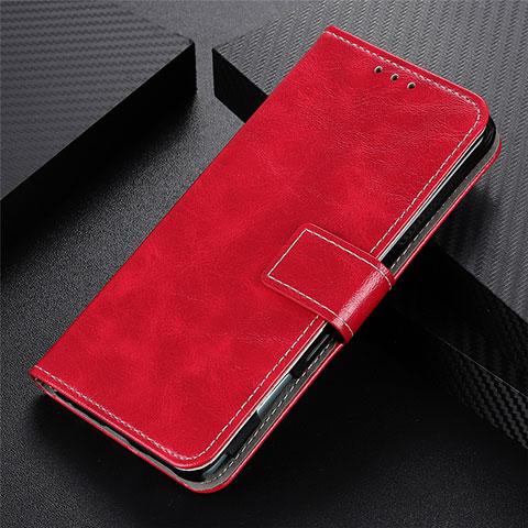 Handytasche Stand Schutzhülle Flip Leder Hülle L07 für Motorola Moto G9 Plus Rot