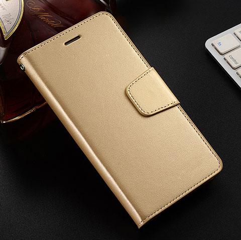 Handytasche Stand Schutzhülle Leder Hülle L03 für Huawei Honor 8X Gold