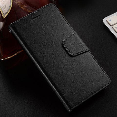 Handytasche Stand Schutzhülle Leder Hülle L03 für Huawei Honor 8X Schwarz