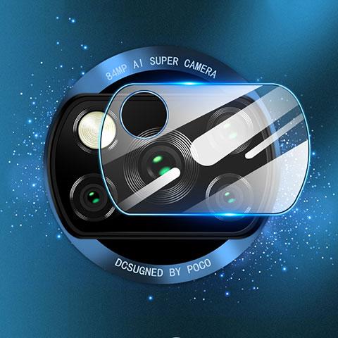 Kameraschutz Gehärtetes Glas Glasfolie Skins zum Aufkleben Panzerglas für Xiaomi Poco X3 NFC Klar