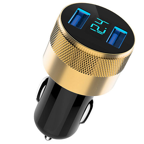 Kfz-Ladegerät Adapter 3.1A Dual USB Zweifach Stecker Fast Charge Universal U06 Schwarz