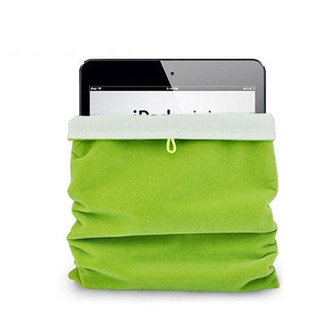 Samt Handy Tasche Schutz Hülle für Huawei MatePad 10.4 Grün