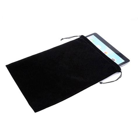 Samt Handy Tasche Sleeve Hülle für Huawei MatePad 10.4 Schwarz