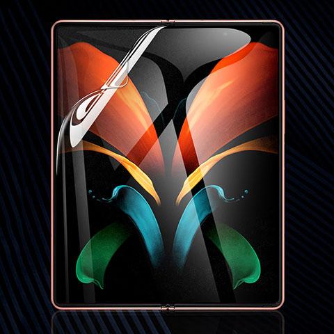 Schutzfolie Displayschutzfolie Panzerfolie Skins zum Aufkleben Full Coverage für Samsung Galaxy Z Fold2 5G Klar