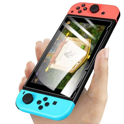 Schutzfolie Displayschutzfolie Panzerfolie Skins zum Aufkleben Gehärtetes Glas Glasfolie für Nintendo Switch Klar
