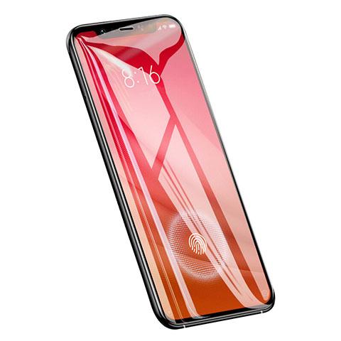 Schutzfolie Displayschutzfolie Panzerfolie Skins zum Aufkleben Gehärtetes Glas Glasfolie T01 für Xiaomi Mi 8 Screen Fingerprint Edition Klar