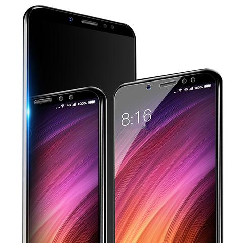 Schutzfolie Displayschutzfolie Panzerfolie Skins zum Aufkleben Gehärtetes Glas Glasfolie T04 für Xiaomi Redmi Note 5 Pro Klar