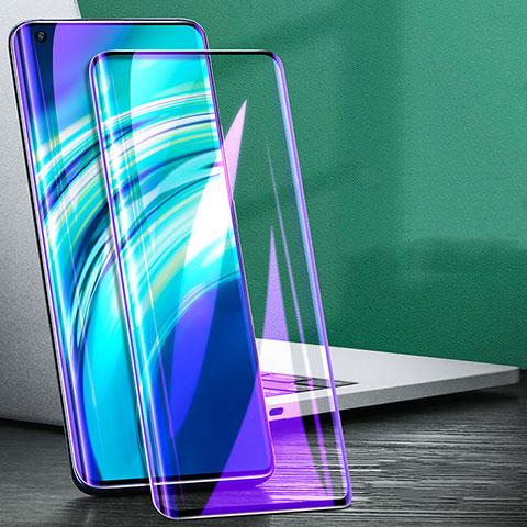 Schutzfolie Full Coverage Displayschutzfolie Panzerfolie Gehärtetes Glas Glasfolie Anti Blue Ray Skins zum Aufkleben Panzerglas für Xiaomi Mi 10 Ultra Schwarz