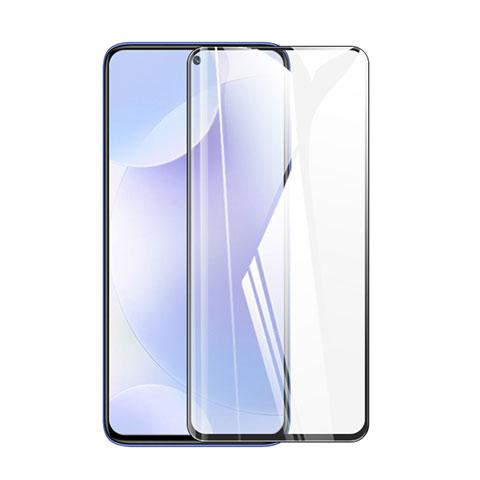Schutzfolie Full Coverage Displayschutzfolie Panzerfolie Gehärtetes Glas Glasfolie Skins zum Aufkleben Panzerglas F02 für Xiaomi Poco X3 NFC Schwarz