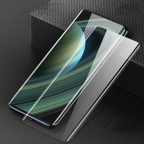 Schutzfolie Full Coverage Displayschutzfolie Panzerfolie Gehärtetes Glas Glasfolie Skins zum Aufkleben Panzerglas F04 für Xiaomi Mi 10 Ultra Schwarz