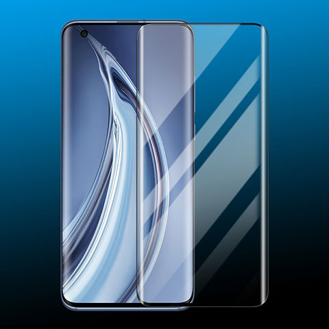 Schutzfolie Full Coverage Displayschutzfolie Panzerfolie Gehärtetes Glas Glasfolie Skins zum Aufkleben Panzerglas für Xiaomi Mi 10 Ultra Schwarz