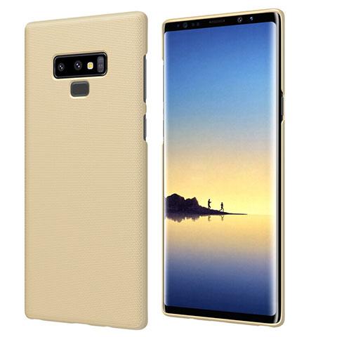Schutzhülle Kunststoff Hülle Matt M04 für Samsung Galaxy Note 9 Gold