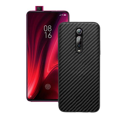 Silikon Hülle Handyhülle Gummi Schutzhülle Flexible Tasche Köper Y01 für Xiaomi Mi 9T Pro Schwarz