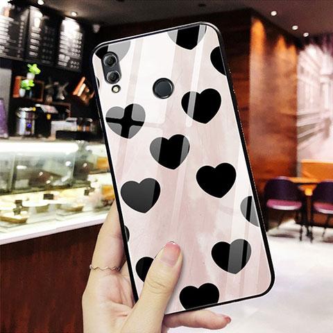 Silikon Hülle Handyhülle Rahmen Schutzhülle Spiegel Liebe Herz S03 für Huawei Honor 8X Rot
