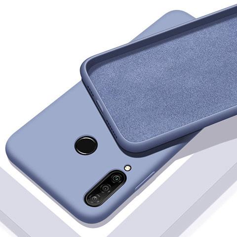 Silikon Hülle Handyhülle Ultra Dünn Schutzhülle 360 Grad Tasche für Huawei Honor 20 Lite Hellblau