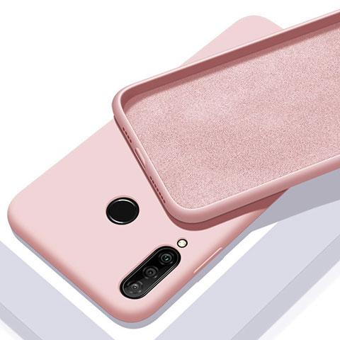 Silikon Hülle Handyhülle Ultra Dünn Schutzhülle 360 Grad Tasche für Huawei Honor 20 Lite Rosegold