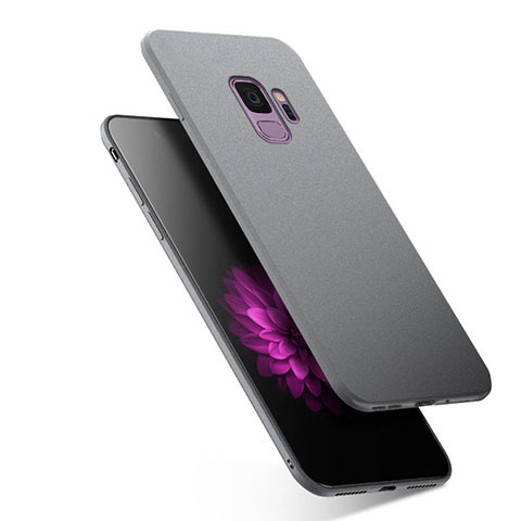 Silikon Hülle Handyhülle Ultra Dünn Schutzhülle S02 für Samsung Galaxy S9 Grau