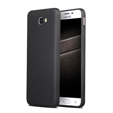Silikon Hülle Handyhülle Ultra Dünn Schutzhülle S03 für Samsung Galaxy J7 Prime Schwarz