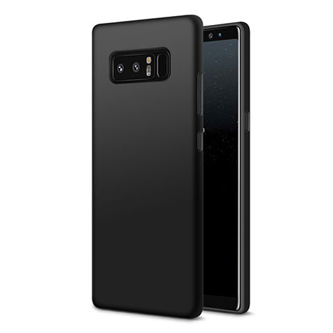 Silikon Hülle Handyhülle Ultra Dünn Schutzhülle S07 für Samsung Galaxy Note 8 Duos N950F Schwarz