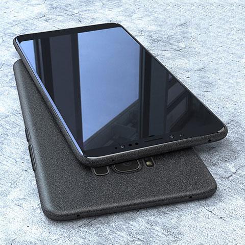 Silikon Hülle Handyhülle Ultra Dünn Schutzhülle S10 für Samsung Galaxy S8 Schwarz