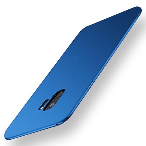 Silikon Hülle Handyhülle Ultra Dünn Schutzhülle Tasche S01 für Samsung Galaxy S9 Blau