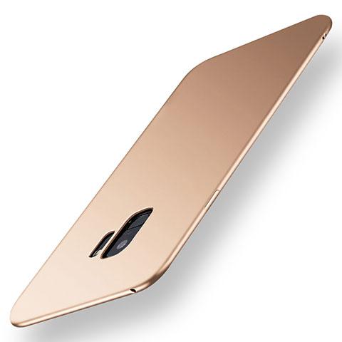 Silikon Hülle Handyhülle Ultra Dünn Schutzhülle Tasche S01 für Samsung Galaxy S9 Gold