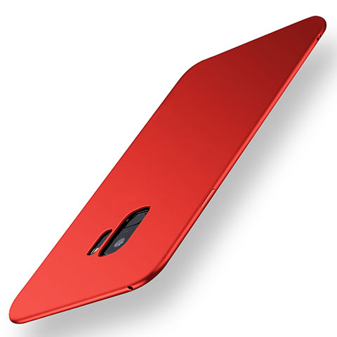 Silikon Hülle Handyhülle Ultra Dünn Schutzhülle Tasche S01 für Samsung Galaxy S9 Rot