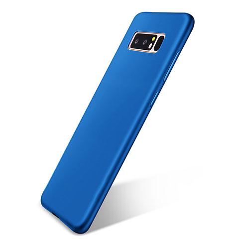 Silikon Hülle Handyhülle Ultra Dünn Schutzhülle Tasche S05 für Samsung Galaxy Note 8 Duos N950F Blau