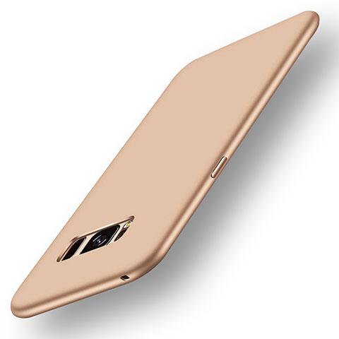 Silikon Hülle Handyhülle Ultra Dünn Schutzhülle Tasche S05 für Samsung Galaxy S8 Gold