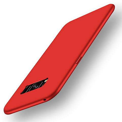 Silikon Hülle Handyhülle Ultra Dünn Schutzhülle Tasche S05 für Samsung Galaxy S8 Rot