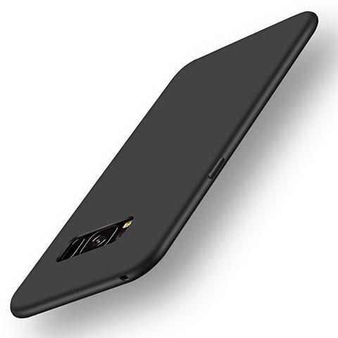 Silikon Hülle Handyhülle Ultra Dünn Schutzhülle Tasche S05 für Samsung Galaxy S8 Schwarz