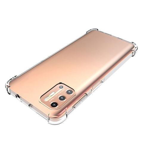 Silikon Hülle Handyhülle Ultradünn Tasche Durchsichtig Transparent für Motorola Moto G9 Plus Klar