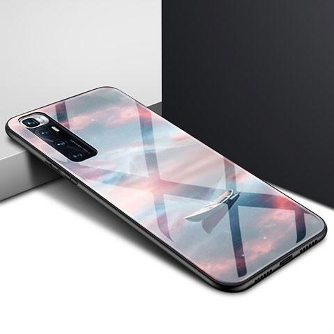 Silikon Schutzhülle Rahmen Tasche Hülle Spiegel für Xiaomi Mi 10 Ultra Plusfarbig
