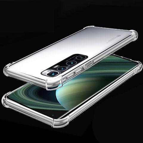 Silikon Schutzhülle Ultra Dünn Flexible Tasche Durchsichtig Transparent H04 für Xiaomi Mi 10 Ultra Klar