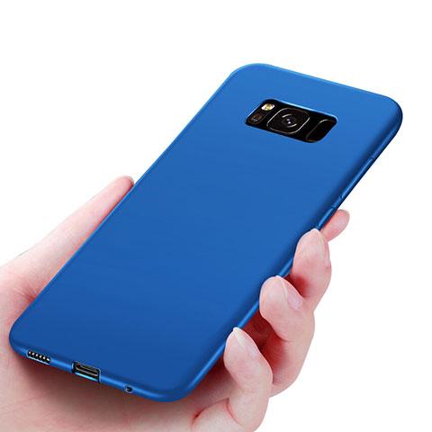 Silikon Schutzhülle Ultra Dünn Hülle S06 für Samsung Galaxy S8 Plus Blau