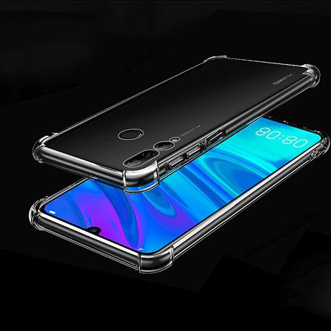 Silikon Schutzhülle Ultra Dünn Tasche Durchsichtig Transparent H01 für Huawei Honor 20 Lite Klar