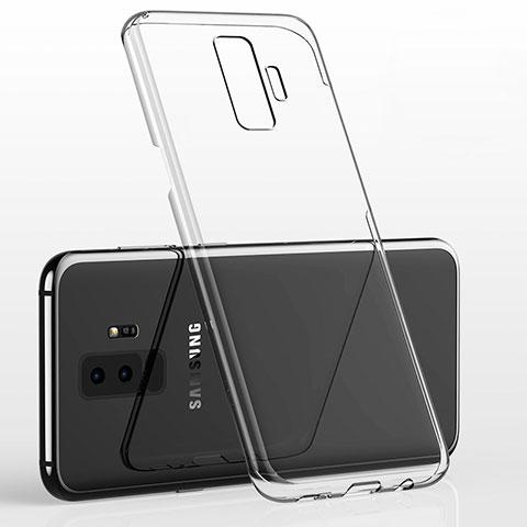 Silikon Schutzhülle Ultra Dünn Tasche Durchsichtig Transparent H02 für Samsung Galaxy S9 Plus Klar
