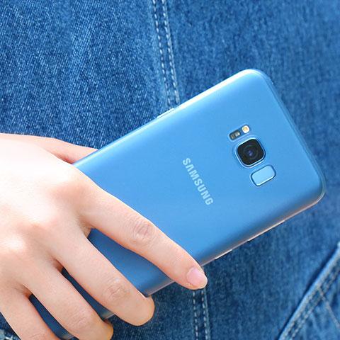 Silikon Schutzhülle Ultra Dünn Tasche Durchsichtig Transparent H07 für Samsung Galaxy S8 Klar