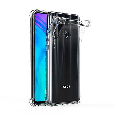 Silikon Schutzhülle Ultra Dünn Tasche Durchsichtig Transparent T03 für Huawei Honor 20 Lite Klar