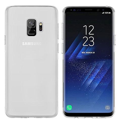 Silikon Schutzhülle Ultra Dünn Tasche Durchsichtig Transparent T07 für Samsung Galaxy S9 Klar