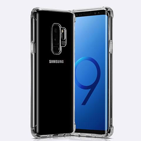 Silikon Schutzhülle Ultra Dünn Tasche Durchsichtig Transparent T22 für Samsung Galaxy S9 Plus Klar