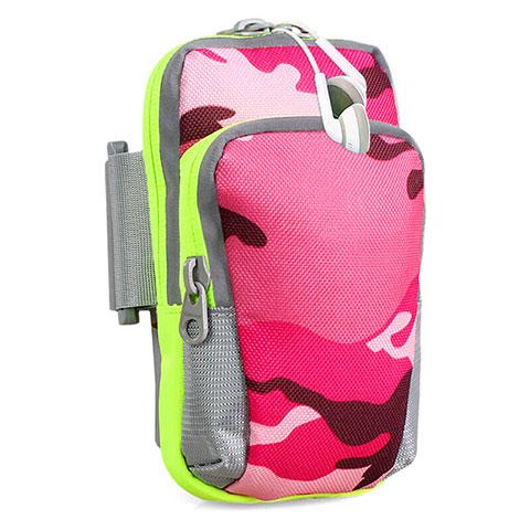 Sport Armband Handytasche Sportarmband Laufen Joggen Universal B23 Pink