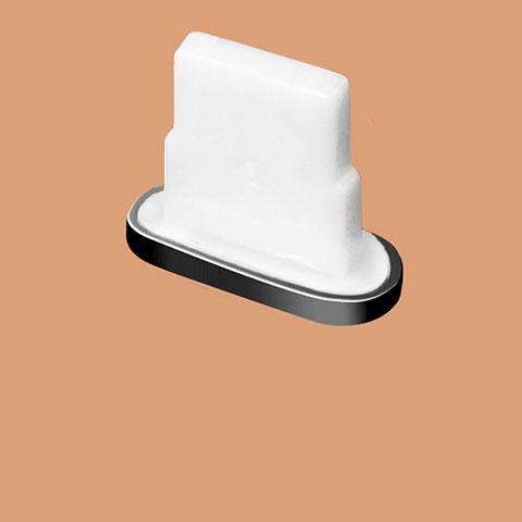 Staubschutz Stöpsel Passend Lightning USB Jack J07 für Apple iPhone 11 Schwarz
